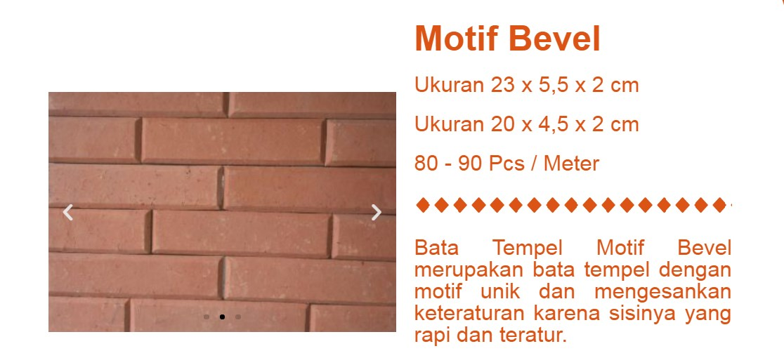 Supplier Bata Expose 12Lebak motif bevel